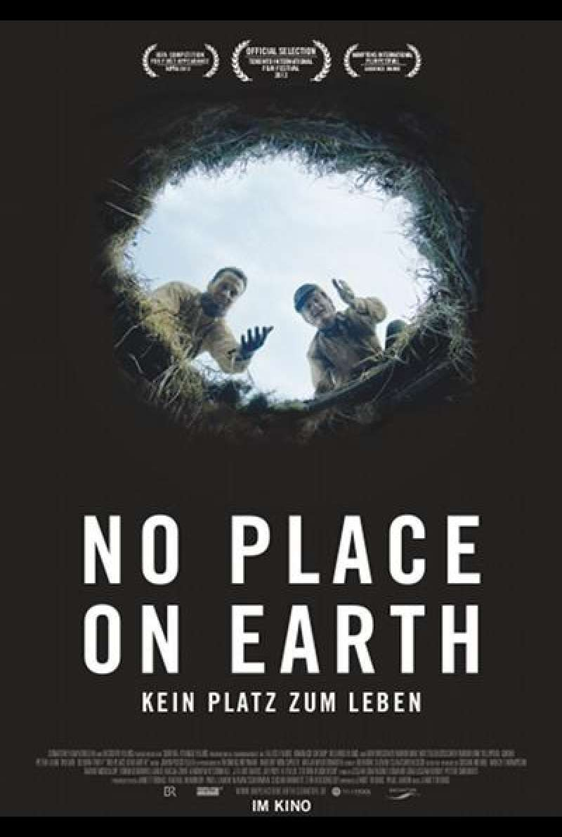 No Place on Earth - Filmplakat