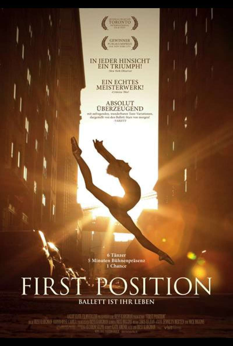 First Position - Filmplakat