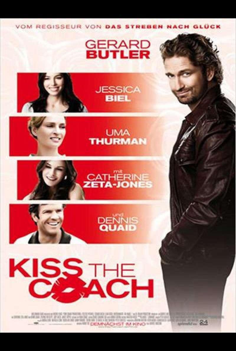 Kiss the Coach - Filmplakat