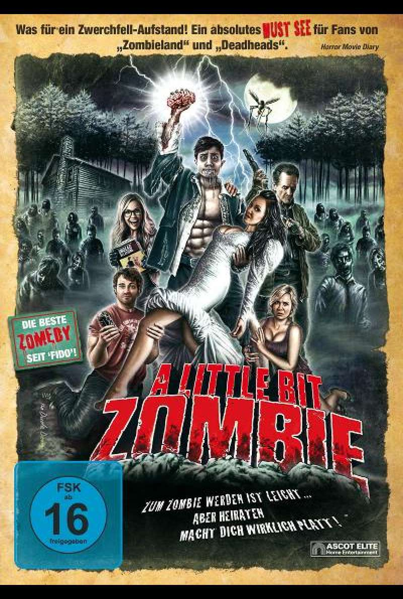 A Little Bit Zombie - DVD-Cover
