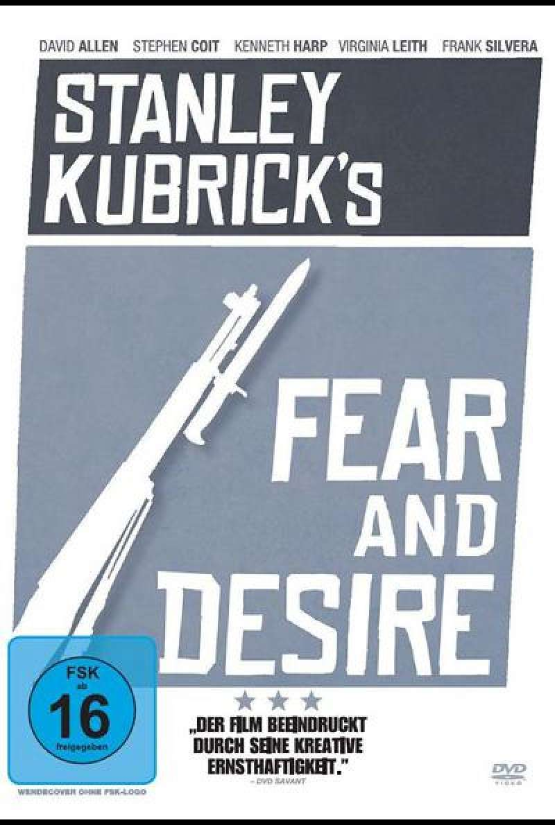 Fear and Desire - DVD-Cover