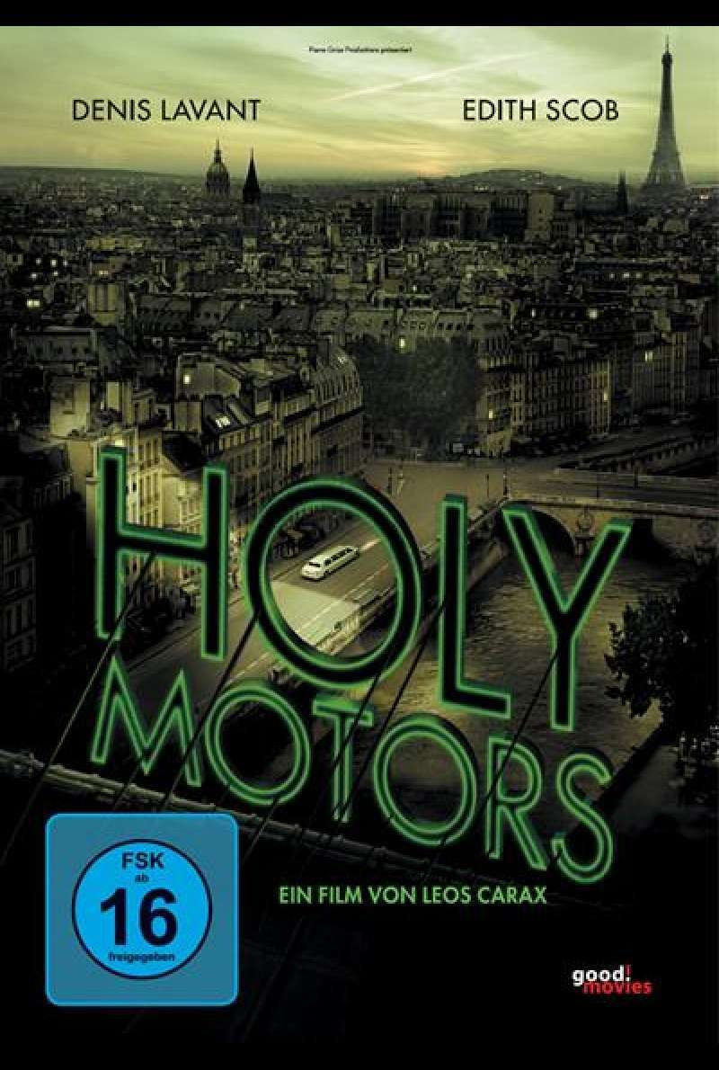 Holy Motors - DVD-Cover