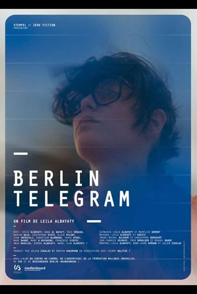 Berlin Telegram - Filmplakat (B)