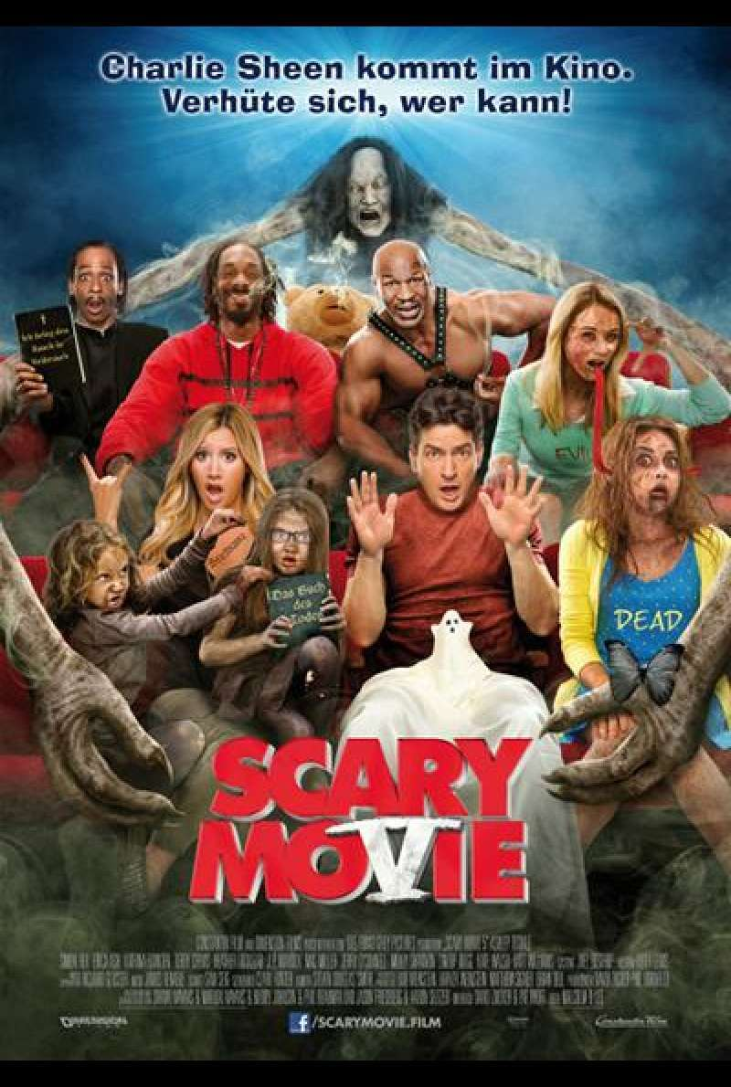 Scary Movie 5 - Filmplakat