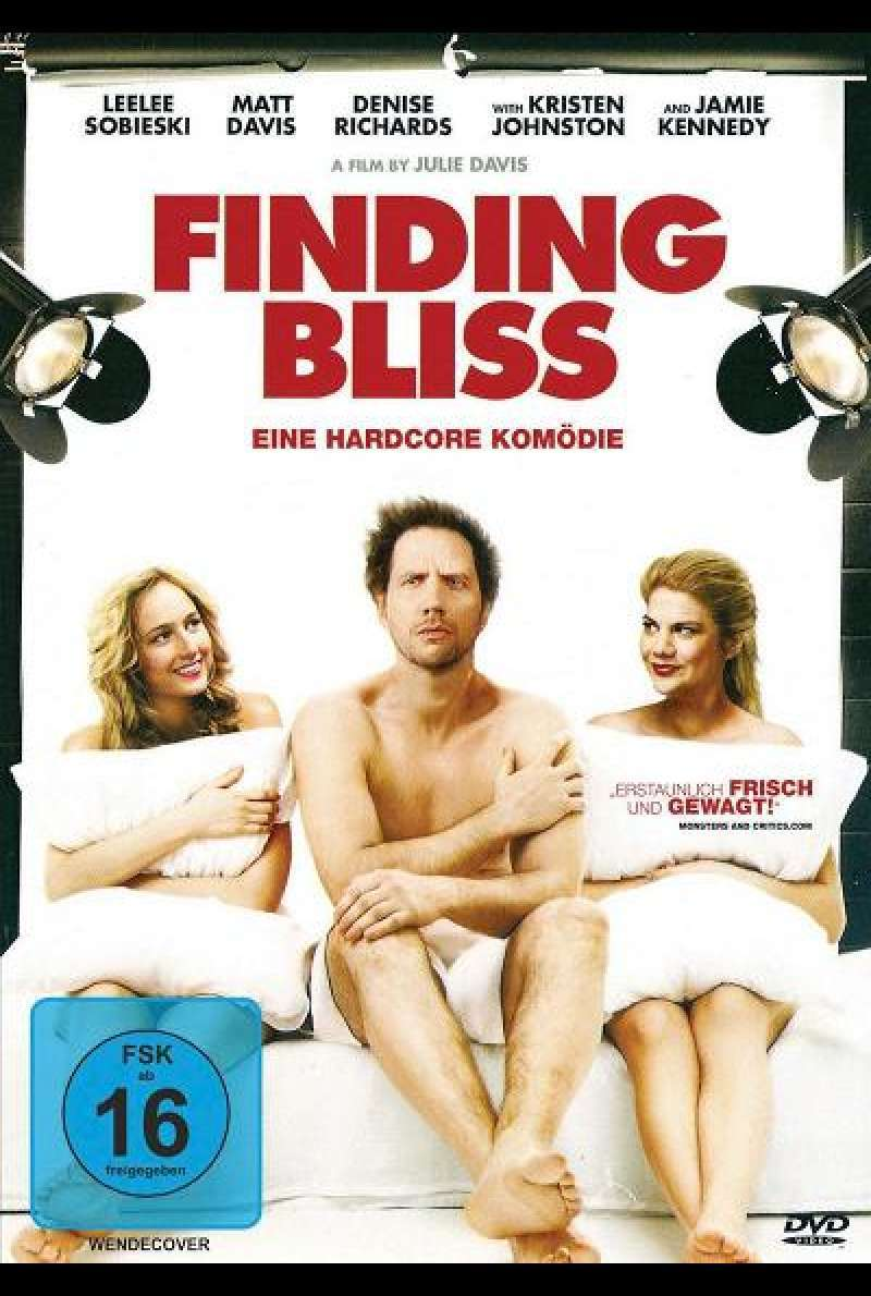 Finding Bliss - DVD-Cover