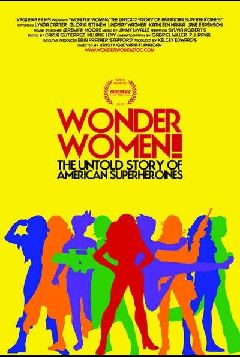 Wonder Women! The Untold Story of American Superheroines - Filmplakat (USA)