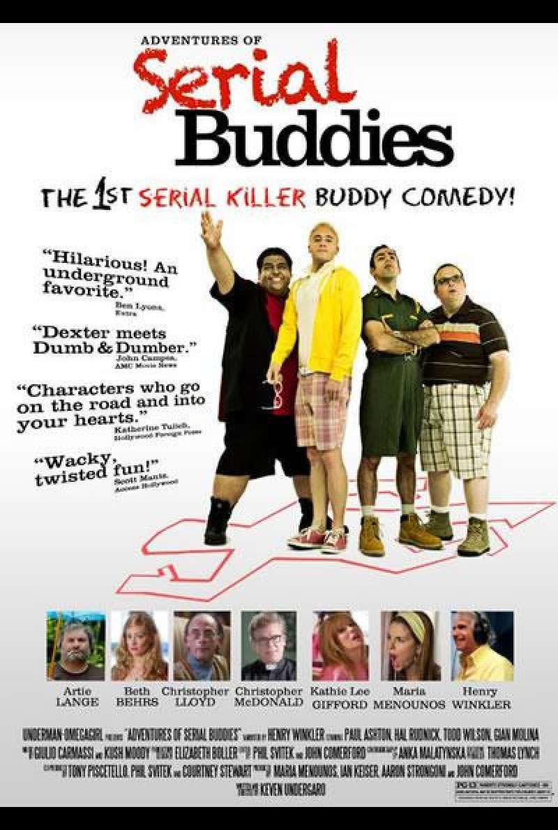 Adventures of Serial Buddies - Filmplakat (US)