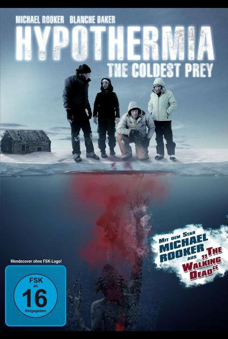 Hypothermia - The Coldest Prey - DVD-Cover