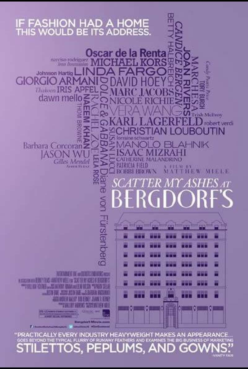 Scatter My Ashes at Bergdorf's - Filmplakat (USA)