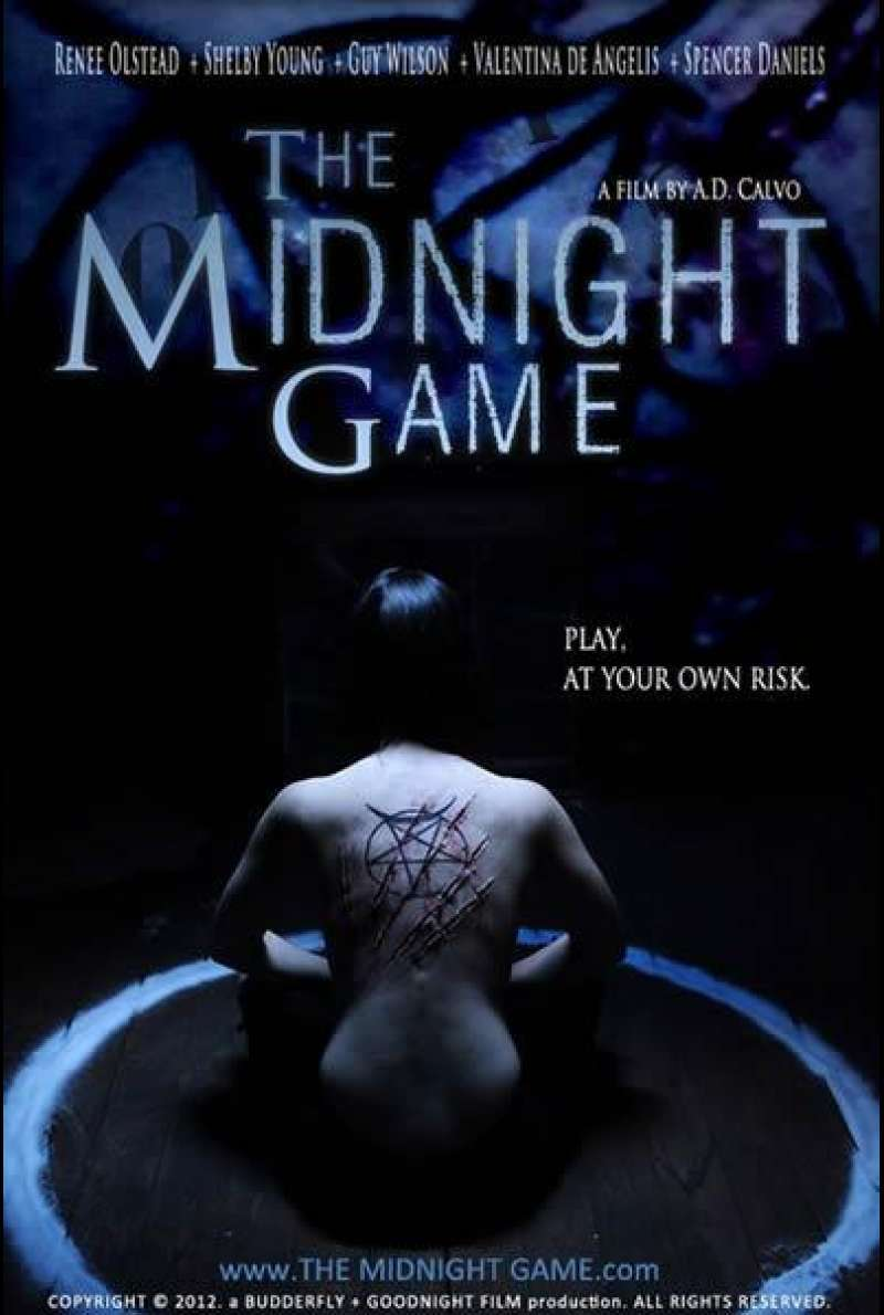 The Midnight Game - Filmplakat (USA)