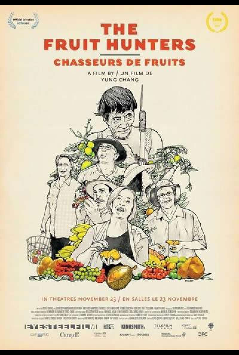 The Fruit Hunters - Filmplakat (CA)