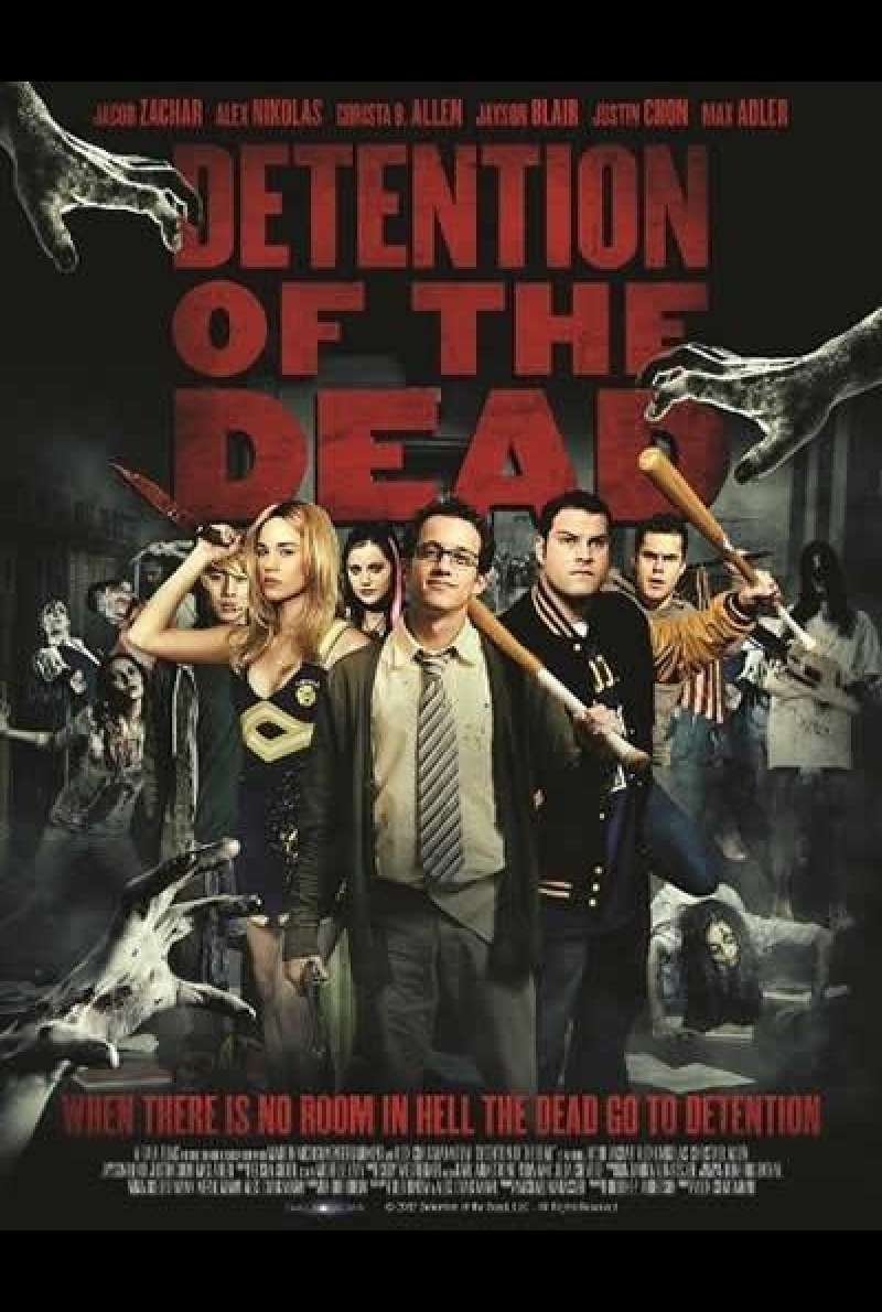 Detention of the Dead - Filmplakat (USA)