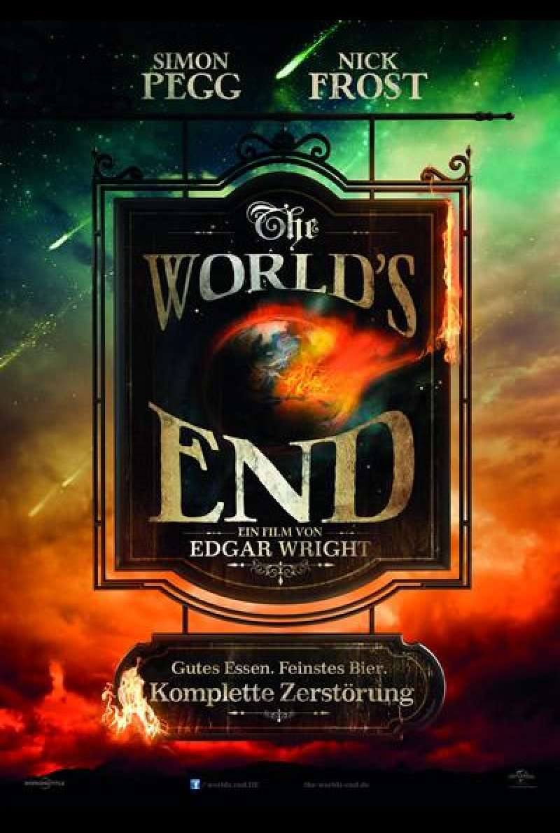 The World's End - Filmplakat