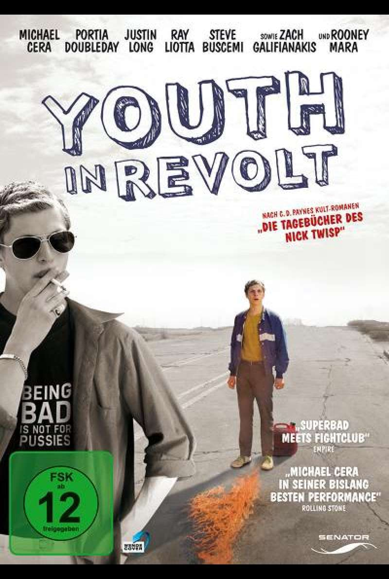 Youth in Revolt - DVD-Cover