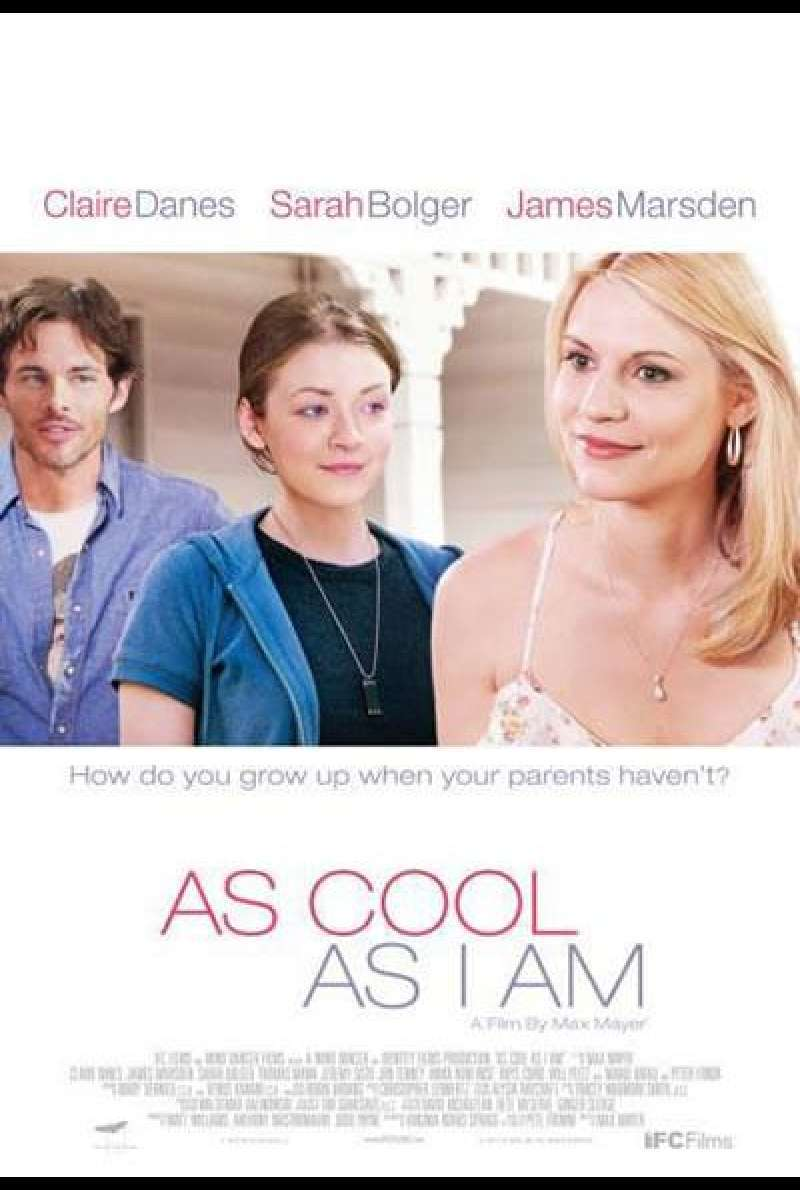 As Cool As I Am - Filmplakat (USA)