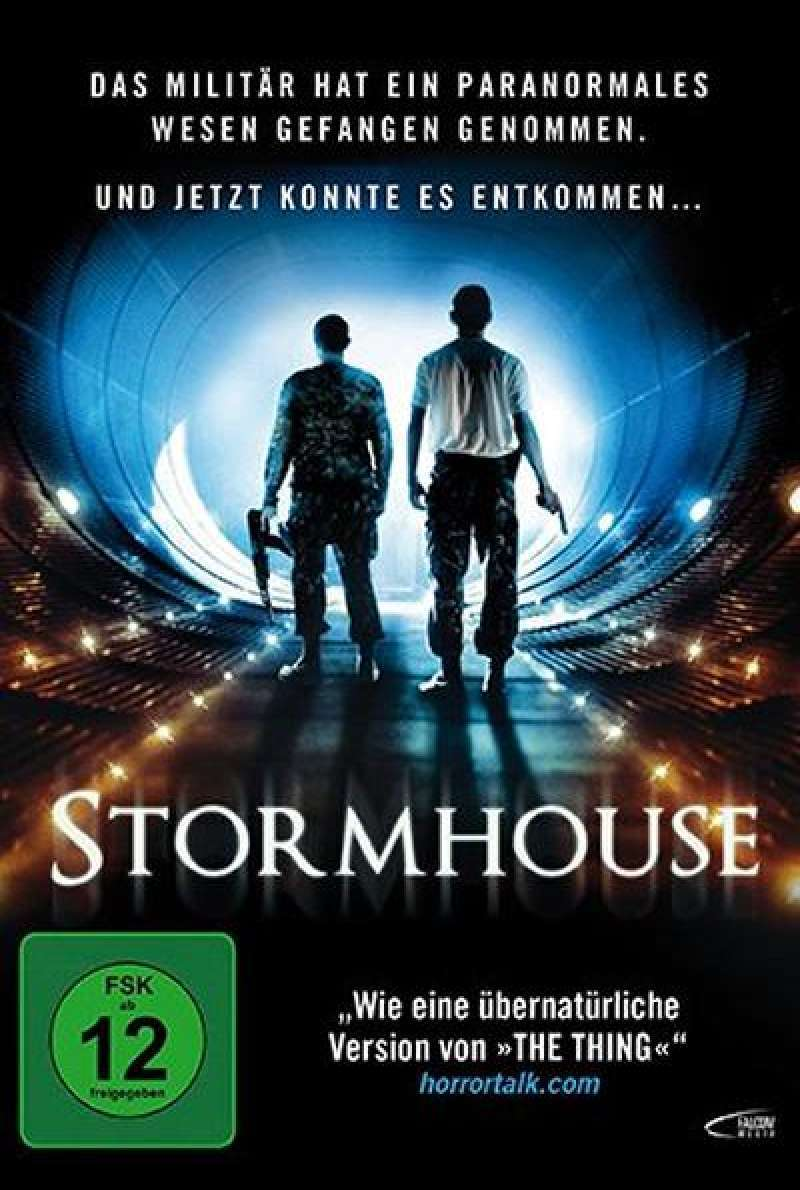 Stormhouse - DVD-Cover (UK)