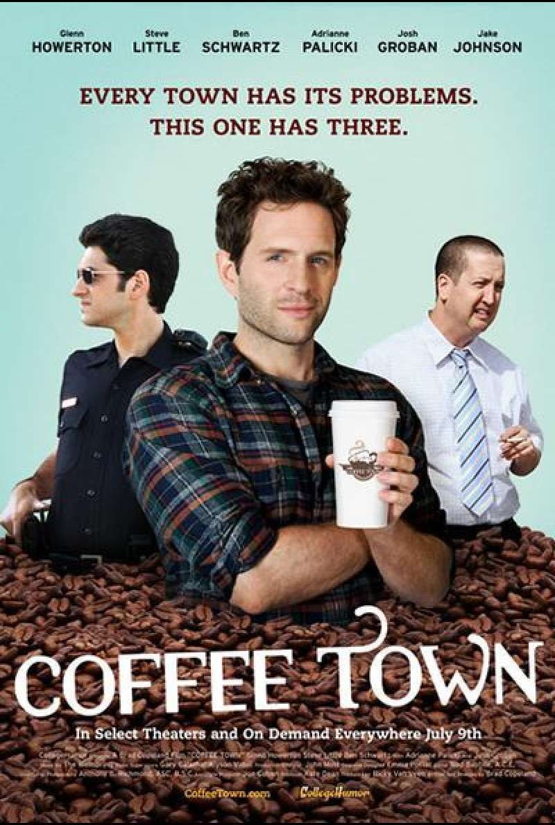 Coffee Town - Filmplakat (USA)