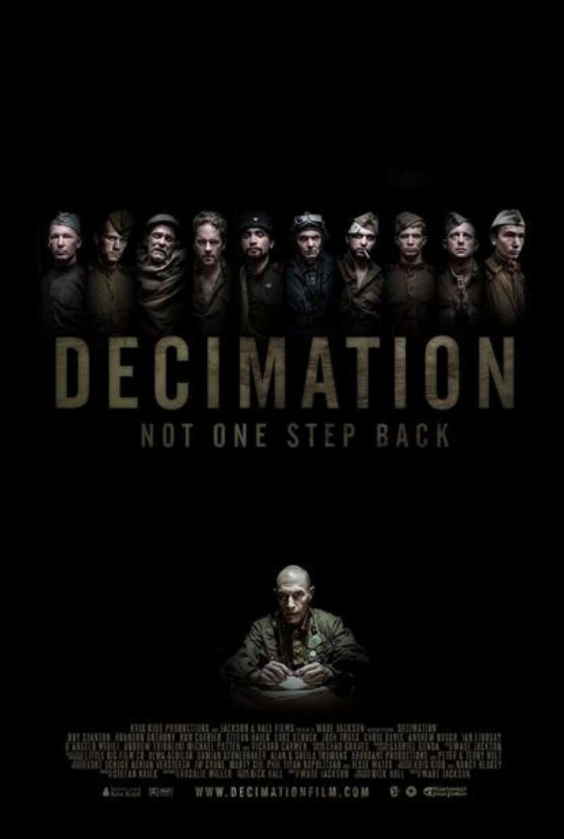 Decimation - Filmplakat (USA)