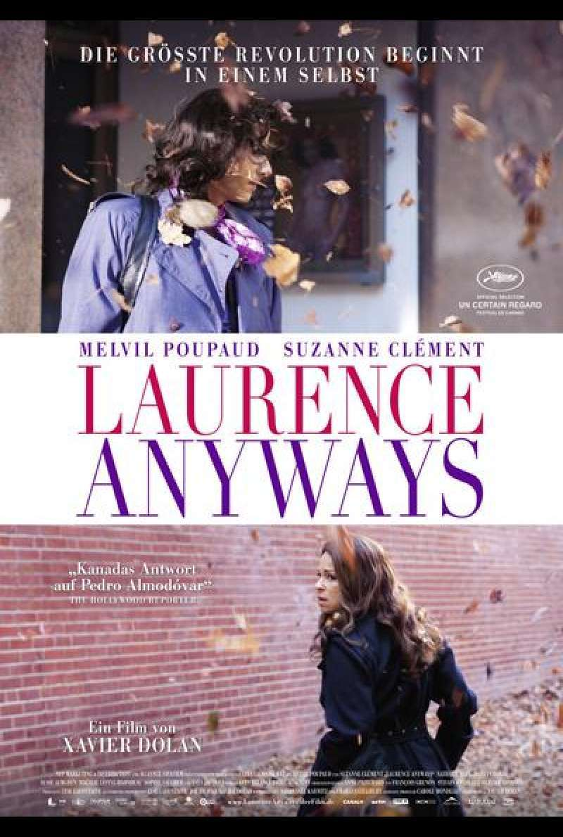 Laurence Anyways - Filmplakat (deutsch)