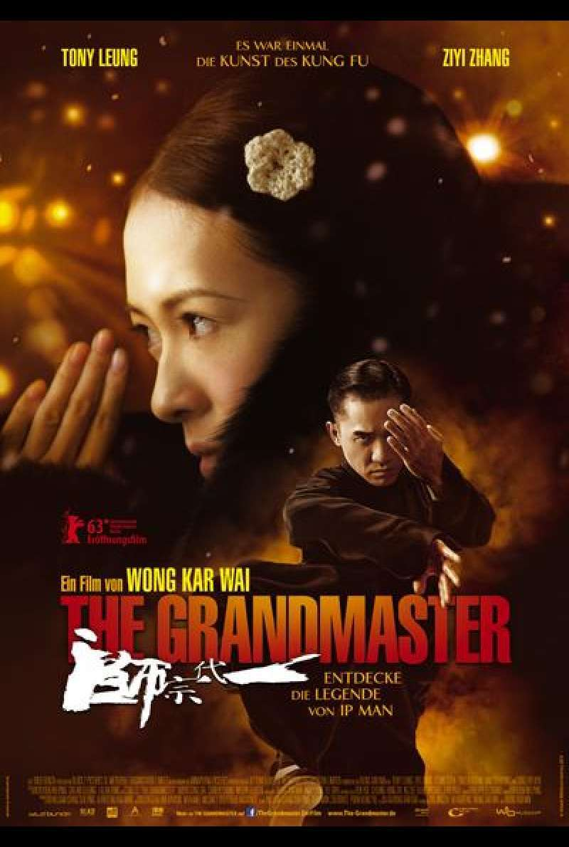 The Grandmaster - Filmplakat (deutsch)