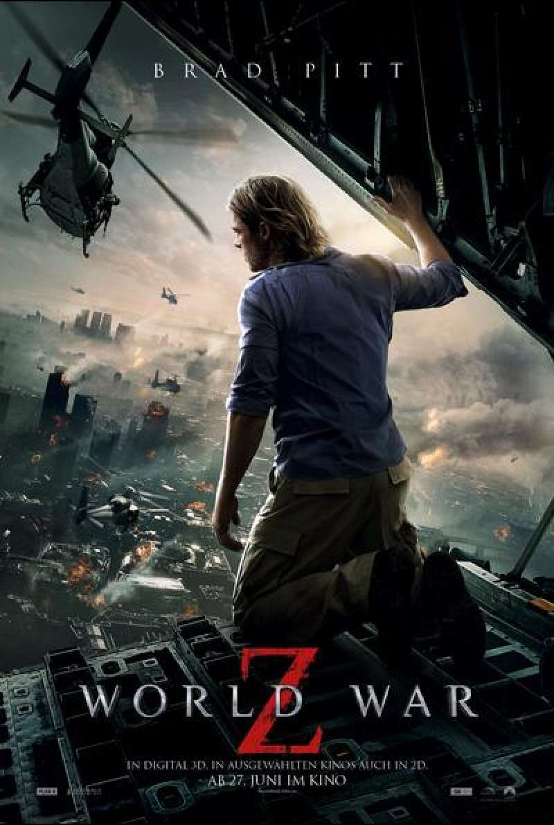 World War Z - Filmplakat (deutsch)