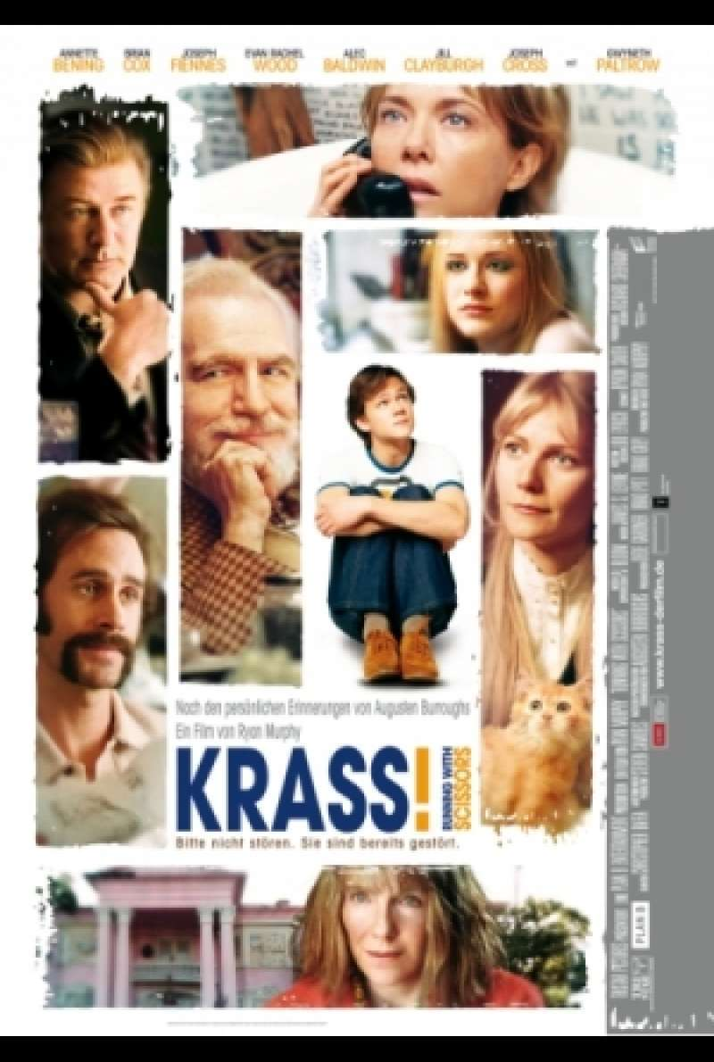 Filmplakat zu Krass / Running with Scissors von Ryan Murphy