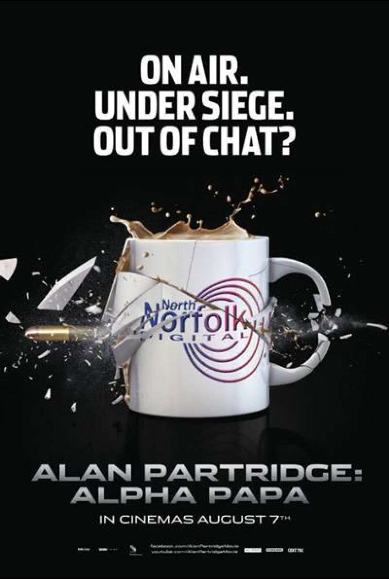 Alan Partridge: Alpha Papa - Filmplakat (GB)