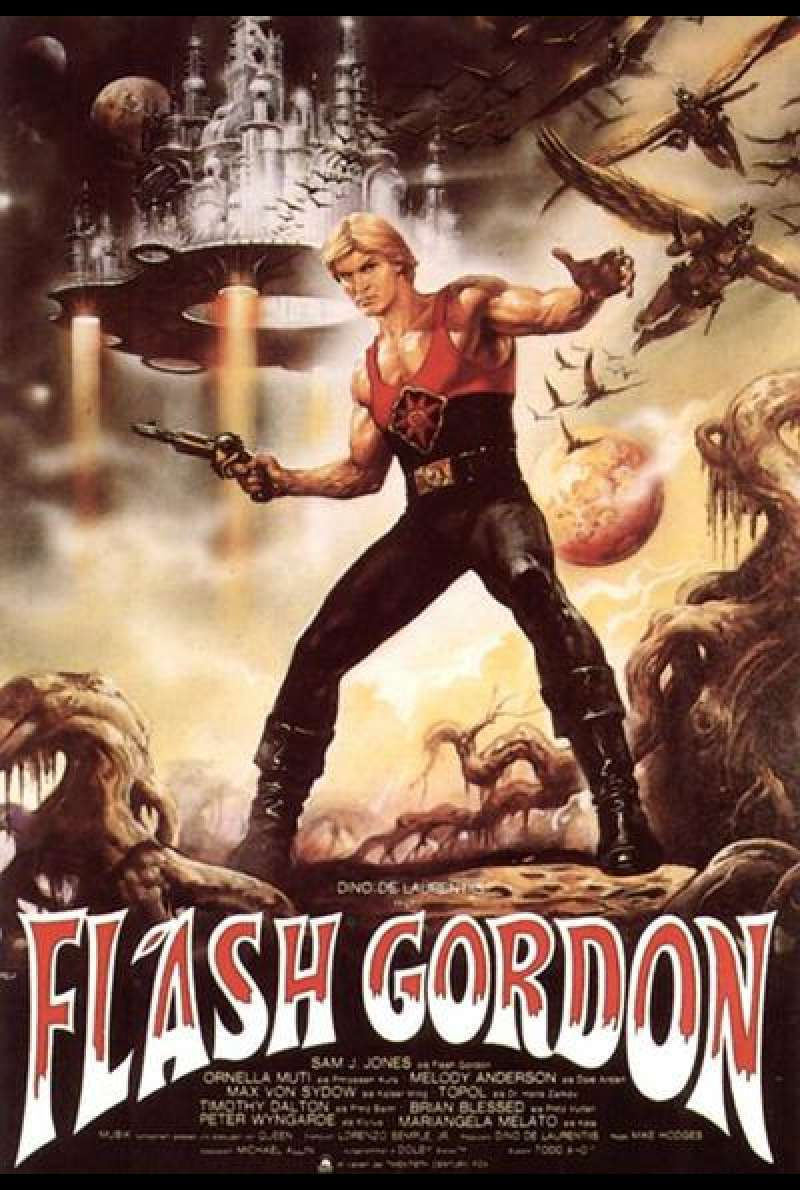 Flash Gordon - Filmplakat