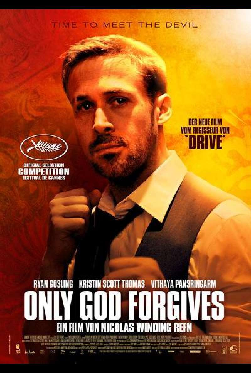 Only God Forgives - Filmplakat