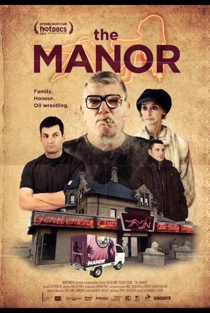The Manor - Filmplakat (CA)