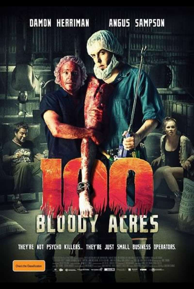 100 Bloody Acres - Filmplakat (AUS)
