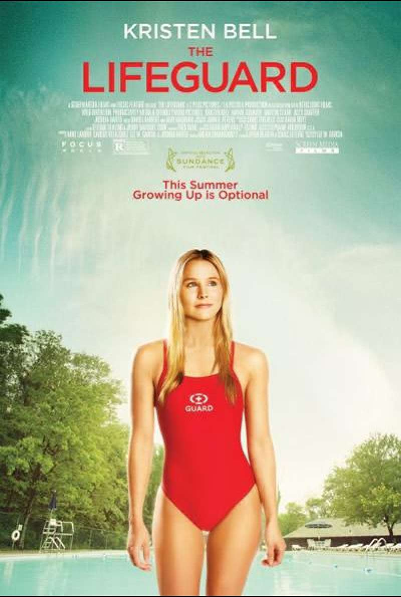The Lifeguard - Filmplakat (US)