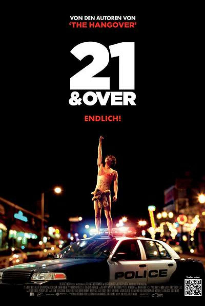 21 and Over - Filmplakat