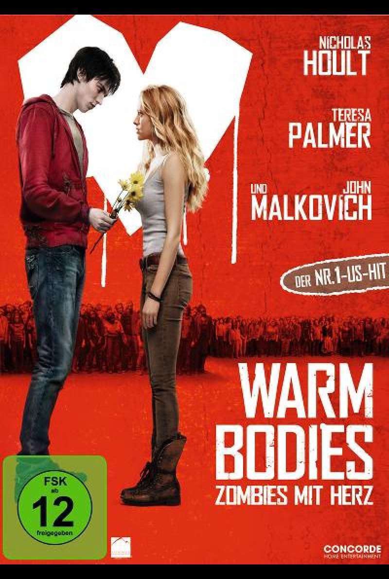 Warm Bodies - DVD-Cover