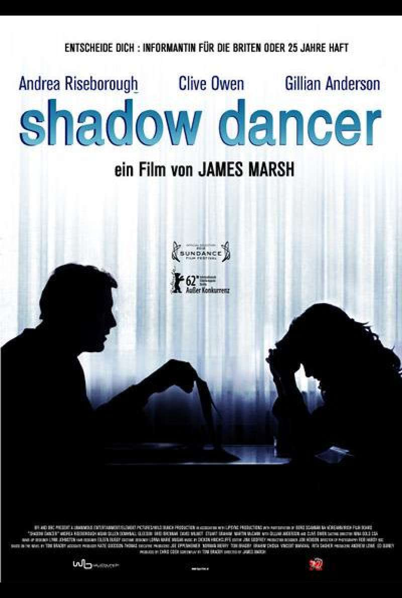 Shadow Dancer - Filmplakat