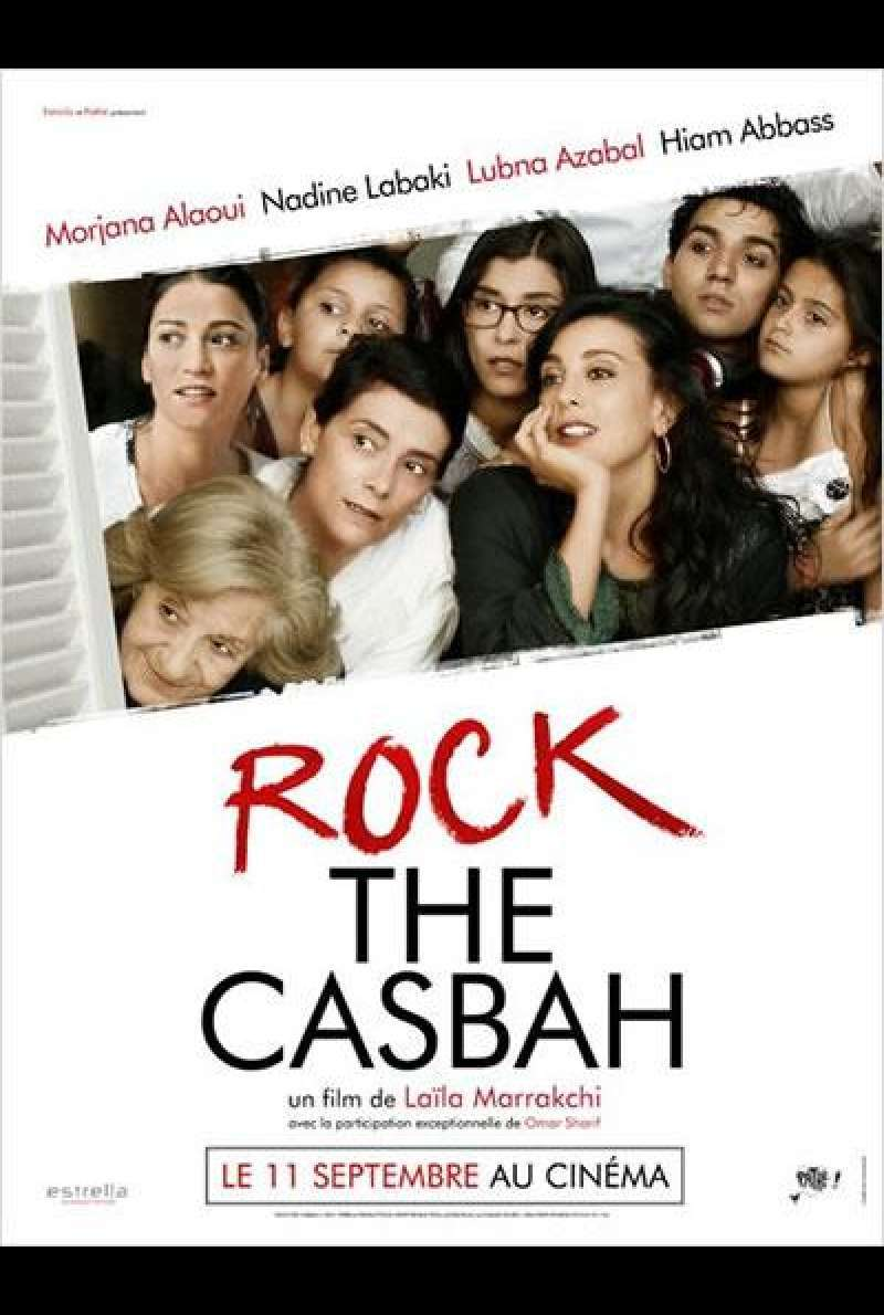 Rock the Casbah - Filmplakat (FR)