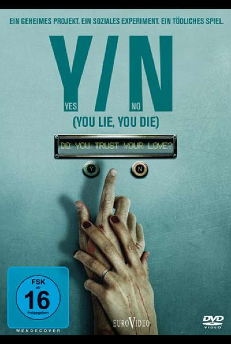 Yes/No: You Lie You Die - DVD-Cover