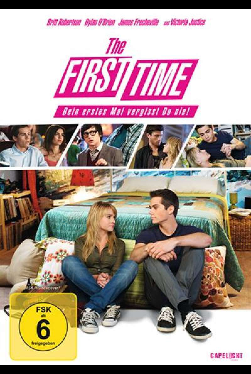The First Time  - DVD-Cover