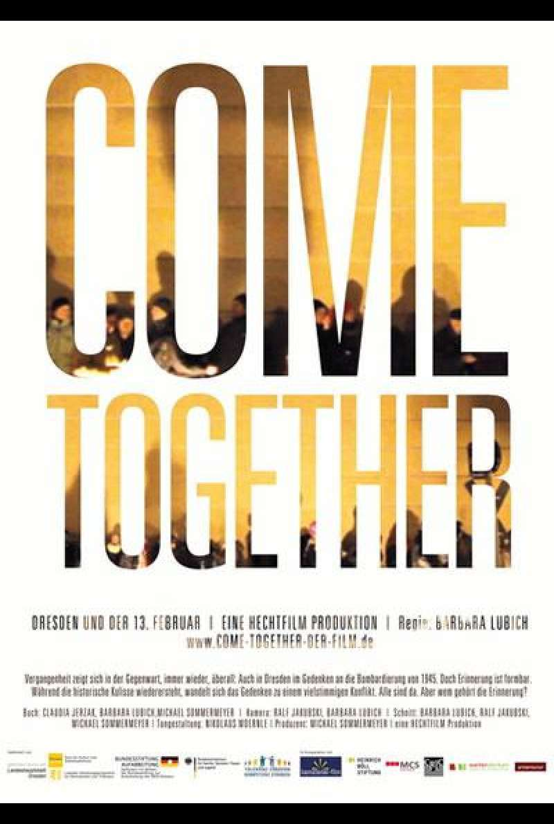 Come Together - Dresden und der 13. Februar - Filmplakat