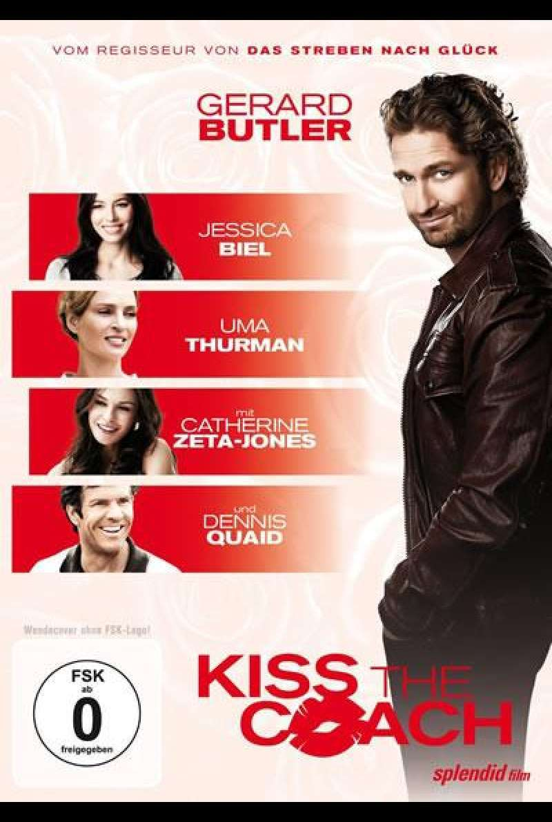Kiss The Coach - DVD-Cover