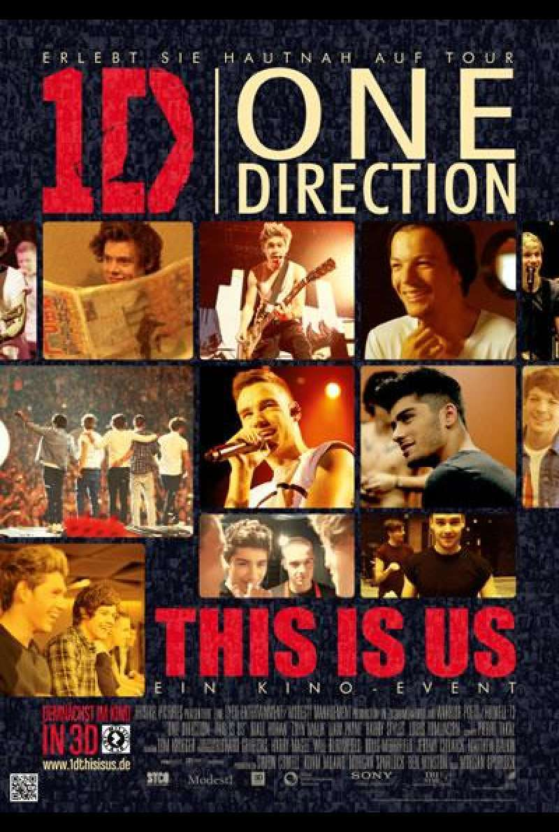 One Direction: This Is Us - Filmplakat