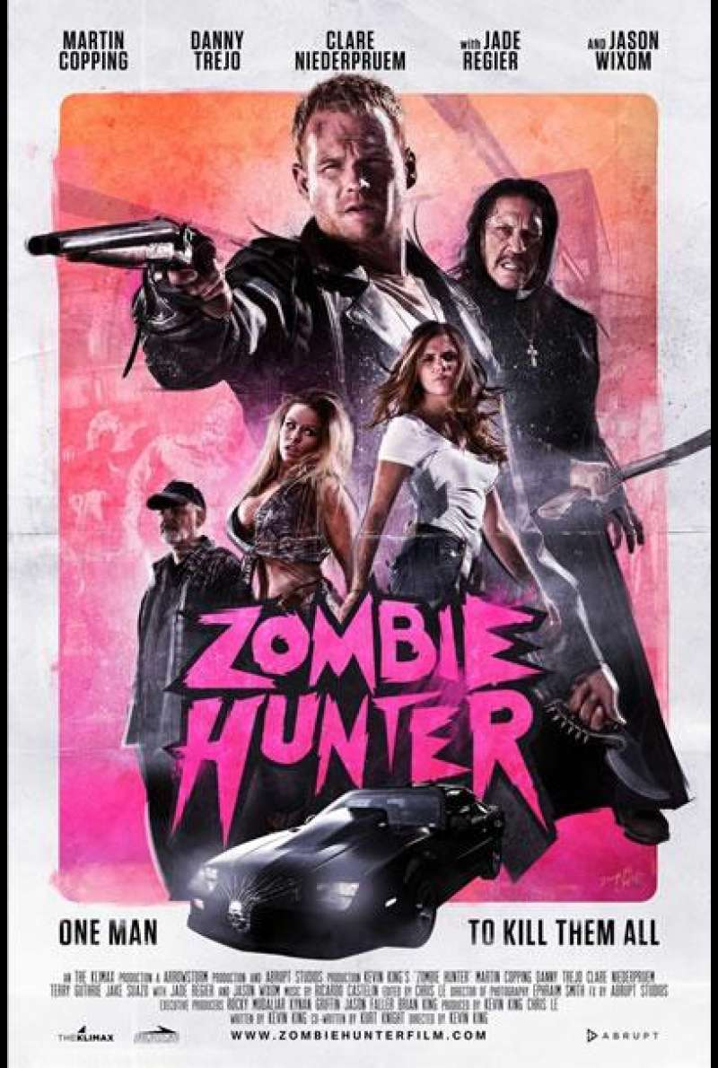Zombie Hunter - Filmplakat (US)