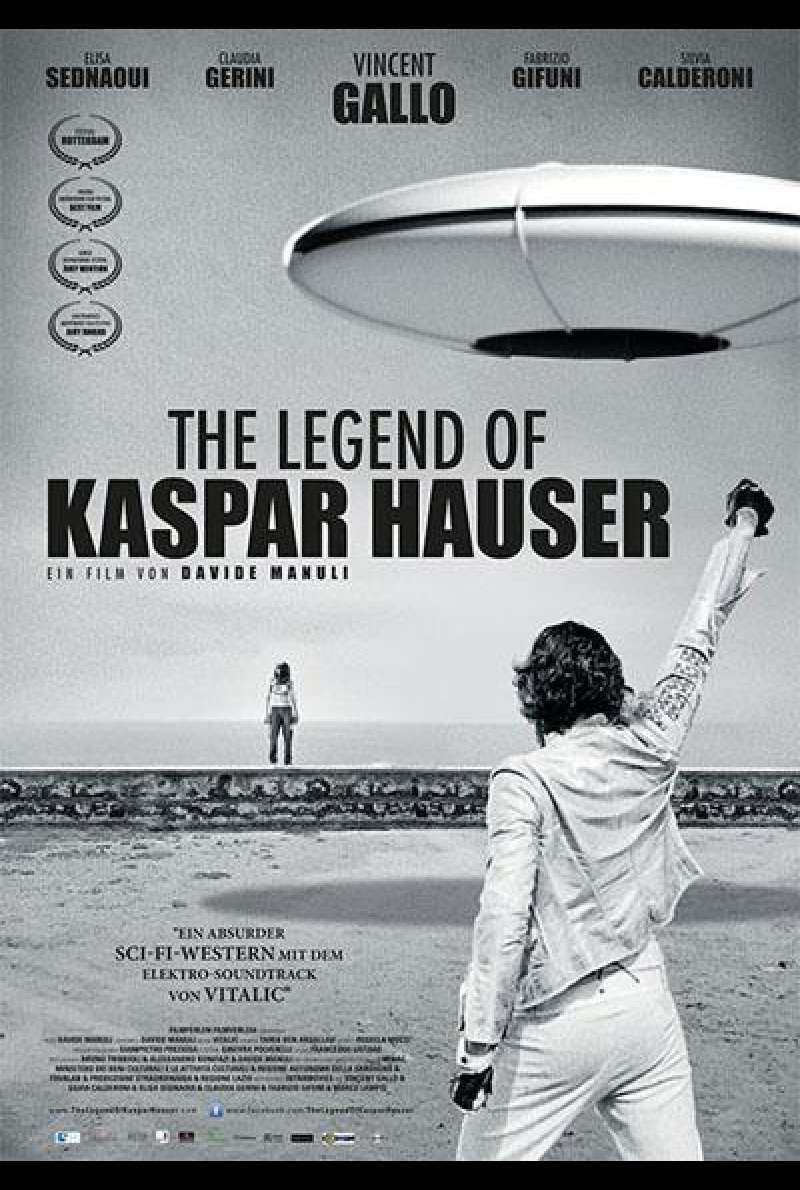 The Legend of Kaspar Hauser - Filmplakat (deutsch)