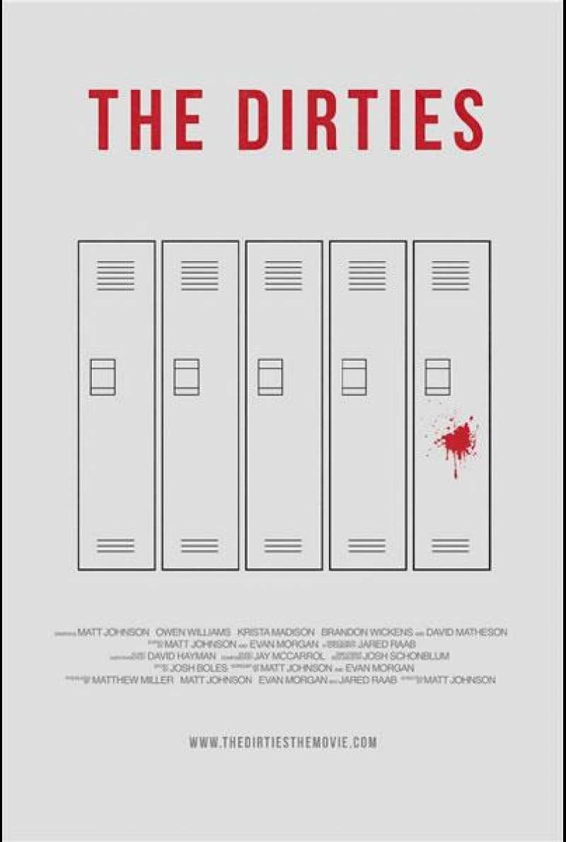 The Dirties - Filmplakat (CA)