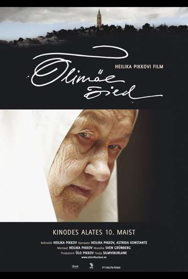 Flowers From The Mount Of Olives - Filmplakat (EST)