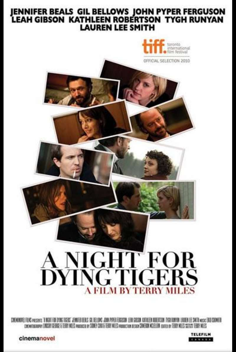 A Night for Dying Tigers - Filmplakat  (CA)
