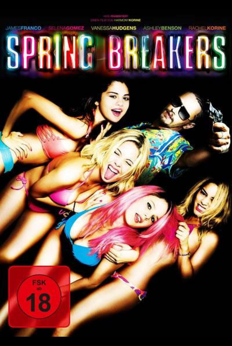 Spring Breakers - DVD-Cover