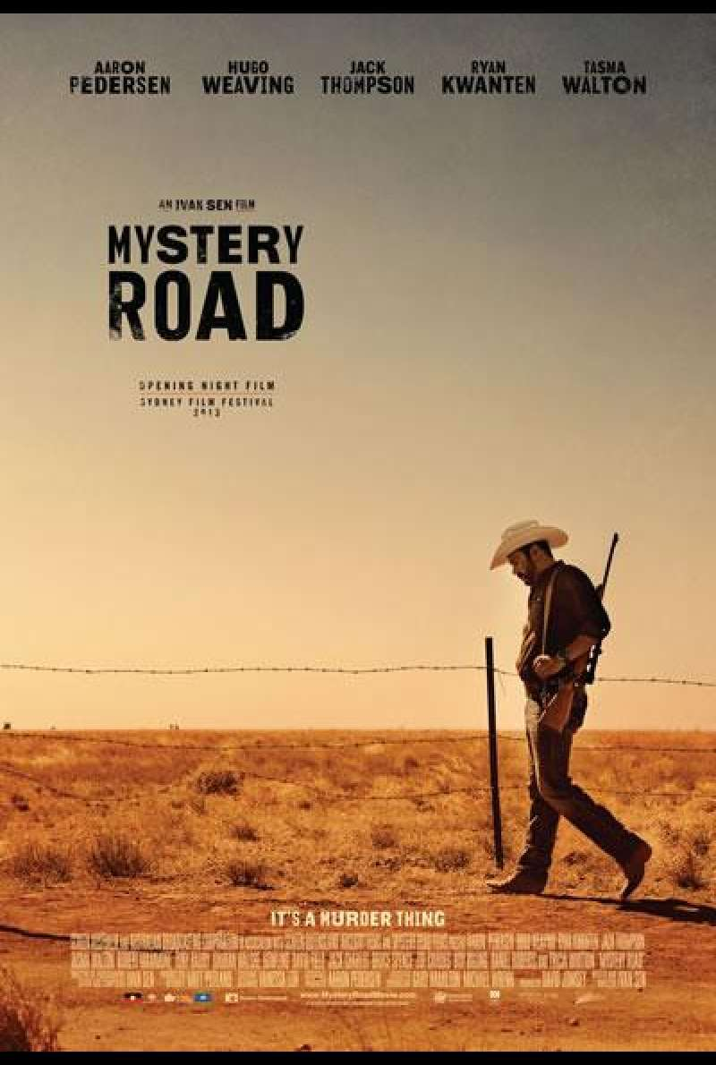 Mystery Road - Filmplakat (AU)