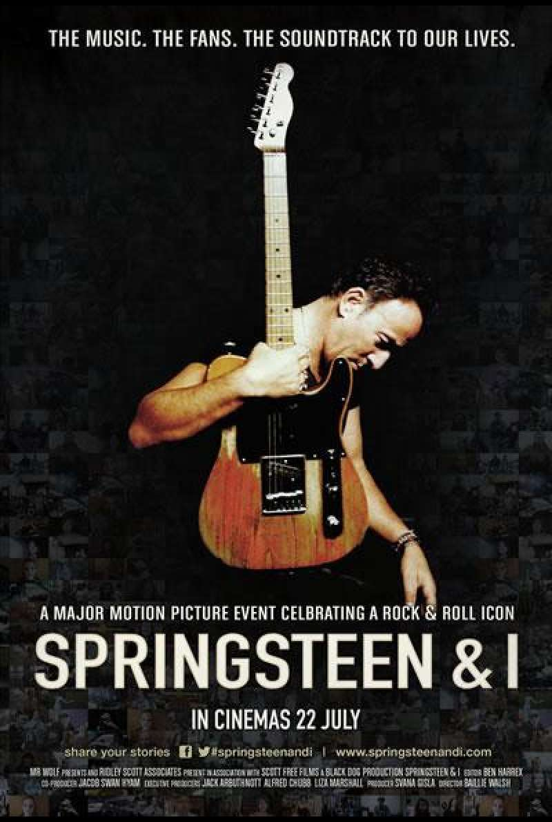 Springsteen & I - Filmplakat (UK)