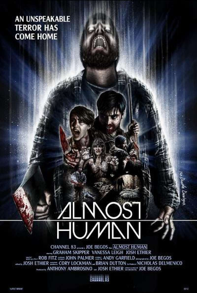 Almost Human - Filmplakat (INT)